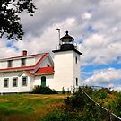 Fort Point Lighthouse, Stockton Springs, Maine by fauselr