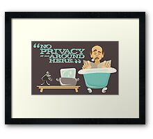 Walt Disney World - Carousel of Progress - Cousin Orville Framed Print