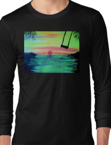 THE SUNSET SWING Long Sleeve T-Shirt