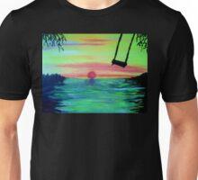 THE SUNSET SWING Unisex T-Shirt