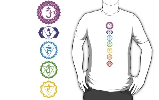 Chakras - The 7 Centers of Force by theteesyouwant