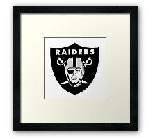 Oakland Raiders Logo Framed Print