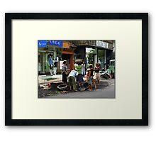 Women at Work Framed Print