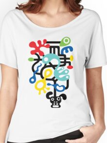 Dog Dreams - on lights Women's Relaxed Fit T-Shirt