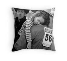 A Cowboy's Shoulder Throw Pillow