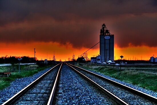 WILD SKY-HDR by Larry Trupp