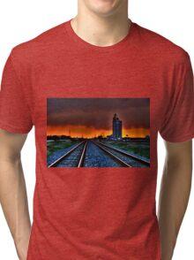 WILD SKY-HDR Tri-blend T-Shirt