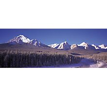 Bow River Journey Photographic Print