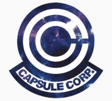 Galaxy Capsule Corp Logo T-Shirt