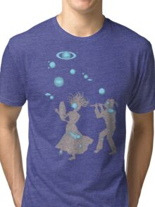 Cosmic Dance with Music of the Spheres Tri-blend T-Shirt