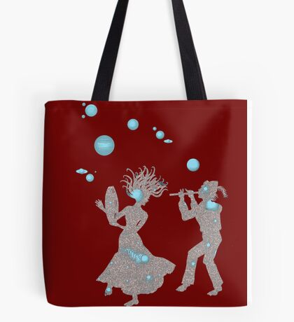 Cosmic Dance with Music of the Spheres Tote Bag