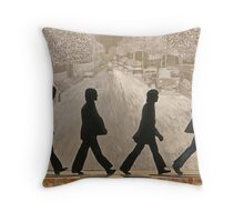 The Beatles ~ Abbey Road Throw Pillow