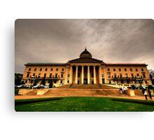 Manitoba Legislative Canvas Print