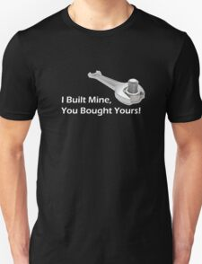 Built not Bought - White T-Shirt