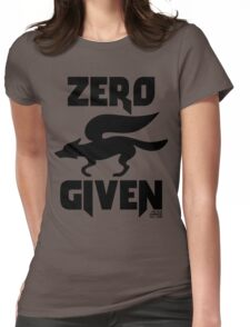 Zero (Star) Fox Given Womens Fitted T-Shirt