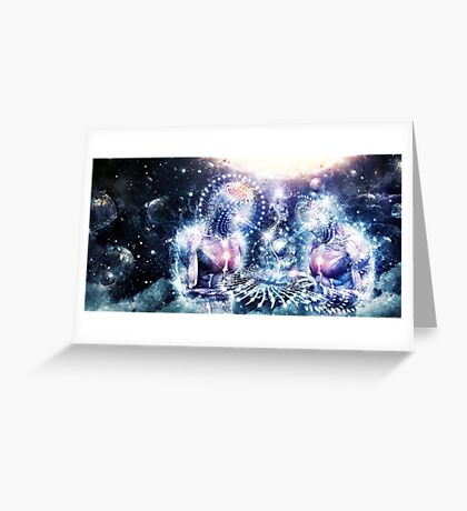 The Knowledge of The Planets Greeting Card