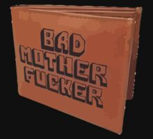 Pulp Fiction Bad Mother Wallet by 2007bc