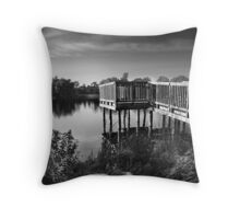 Sunset at TooGood Pond Throw Pillow