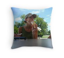 Experience wins.... Throw Pillow