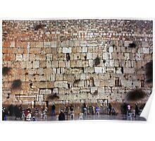 Wailing Wall - Jerusalem Poster