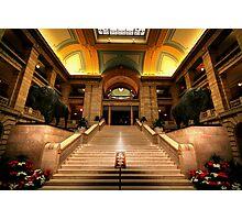 Legislative Marble Staircase Photographic Print