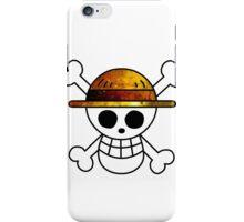 Galaxy Luffy's Flag iPhone Case/Skin