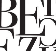 Breezeblocks Sticker