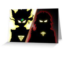 Yu-Gi-Oh Dueling Power Greeting Card