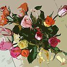 Cartoon_Roses by canhsierra