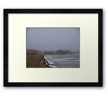 waking up Framed Print