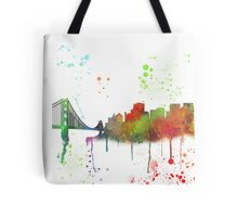 San Francisco, California Skyline  Tote Bag