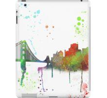 San Francisco, California Skyline  iPad Case/Skin