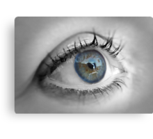 ....In The Eye Of The Beholder Canvas Print
