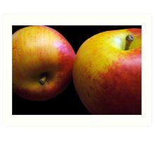 An Apple A Day Keeps the Doctor Bill Away!!! Art Print