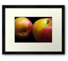 An Apple A Day Keeps the Doctor Bill Away!!! Framed Print