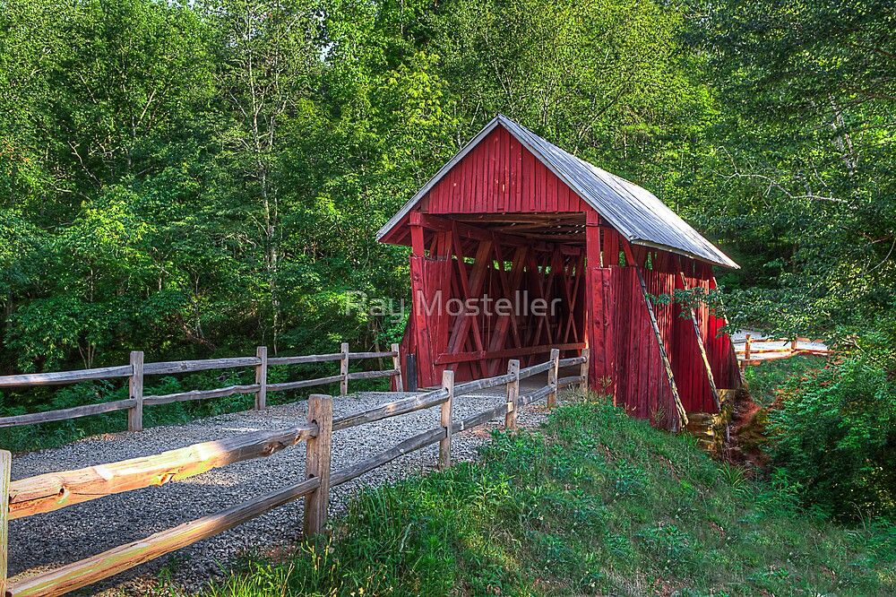 Campbells' Covered Bridge by Ray Mosteller