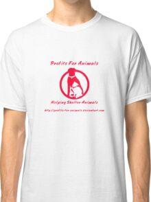 Profits For Animals - Logo Classic T-Shirt