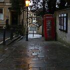 Rainy alley in Bath by PetraJW