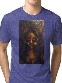 Fille (Girl) Tri-blend T-Shirt
