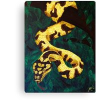 Saffron Entanglement Canvas Print