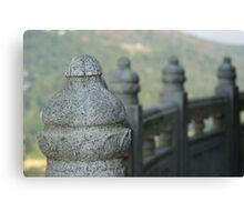 Sentinels - Po Lin Monastery, Hong Kong Canvas Print