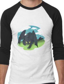 Toothless Men's Baseball ¾ T-Shirt