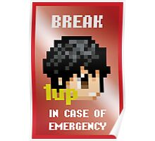 Emergency 1UP Poster