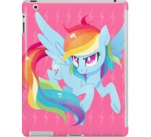 rainbow power iPad Case/Skin