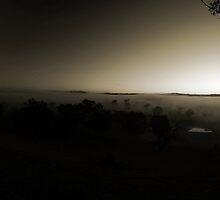 Cold morning sunrise - Mansfield by Trevor Hadley
