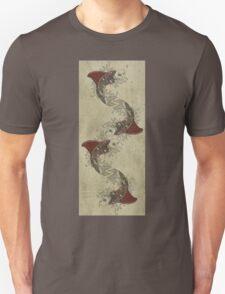 shark fin goldfish school Unisex T-Shirt