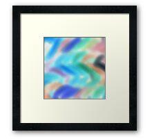 Playful Colors Framed Print