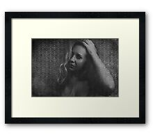 The Cold Dark Room That Is My Heart Framed Print