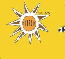 Sturgis Est. 1888 skater shirt Sticker