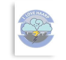 I LOVE HAARP Canvas Print